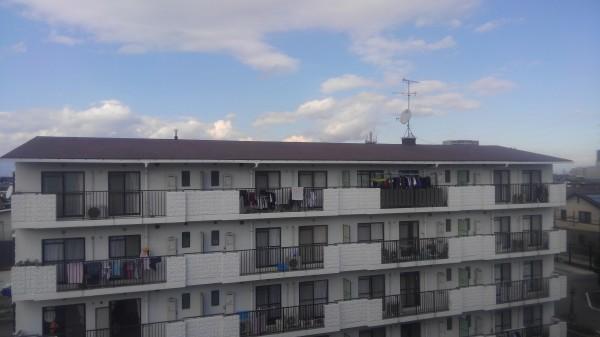 マンション屋根塗装・施工後